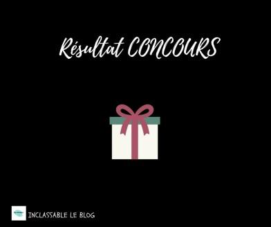 Résultat CONCOURS (3)