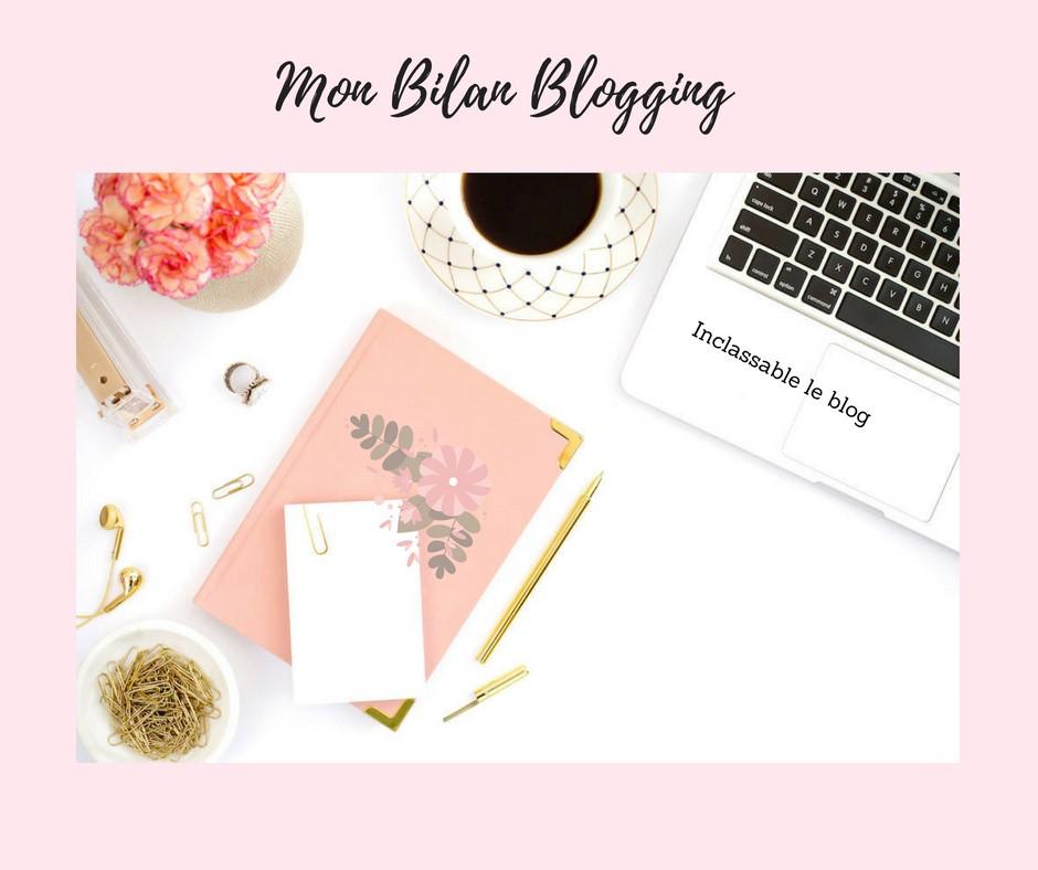 mon bilan blogging