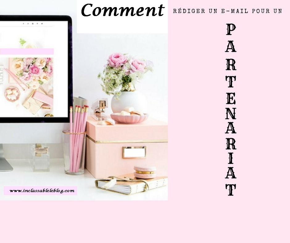 blogueuse partenariat