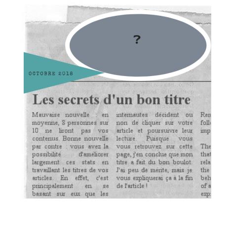 #articleblog #titreaccrocheur