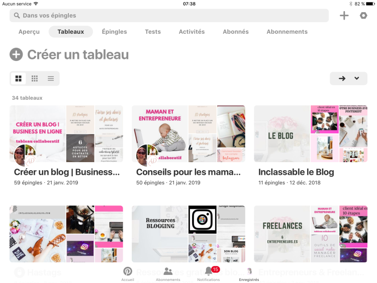 #blog #pinterest #blogueuse